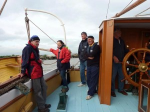 Catherine De Bont pic from Thames adventure