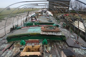 Cambria's Deck prior to restoration