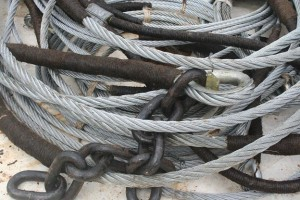 Various new rigging bits in May 2011