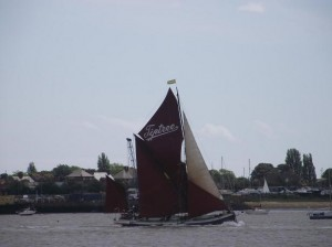 Decima in Pin Mill Match. Photo By Dave Brooks