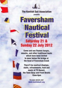 Faversham Nautical Festival poster