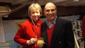 David Suchet and Shiela, Photo by Bruce Richardson