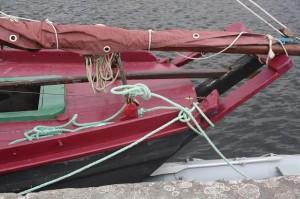 Galway hooker stern