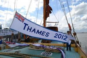 Thames 2012 pennant