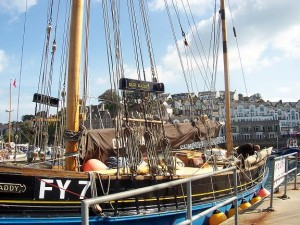 Brixham, Our Daddy, the last Looe lugger
