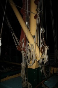 Mast at Night