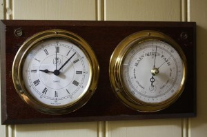 Clock and Barometer