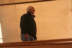 William Collard strolls Cambria's Decks in Sept 2010