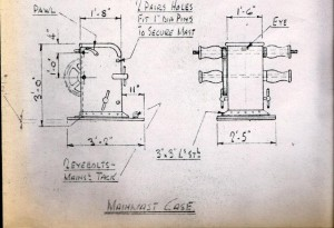 Main Mast Winch drawings