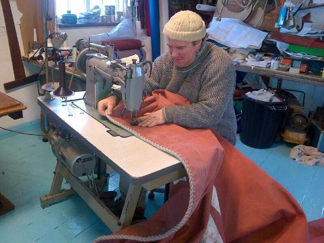 Steve Hall sailmaker