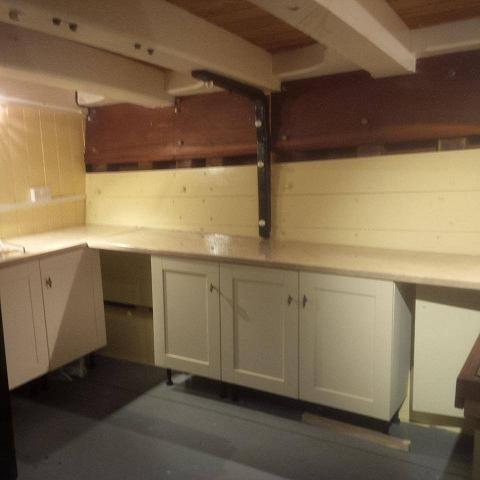 New kitchen; Pic by Ian Ruffles
