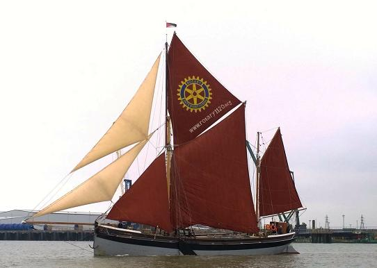 Cambria in the 2015 Medway - pic by Maggs Casey Kelly